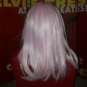 Halloween Anime Cosplay Baby Pink Hair Wig